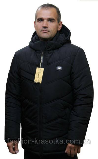 Теплая мужская куртка больших размеров:48-62.