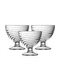 "Креманка LUMINARC ""Свирл"" 3 шт. креманок для мороженного (H5068/1)"