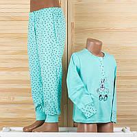 Детская пижама на девочку из турецкого хлопка. Moral 804-1 2/3. Размер на 2/3 года.