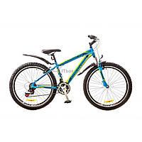 """Велосипед Discovery 26"""" TREK 2018 AM 14G DD рама-15"""" St черно-оранжево-синий (OPS-DIS-26-133)"""