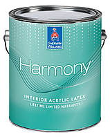 Краска SW Harmony® Interior Acrylic Latex Paint Flat(3.63 л)