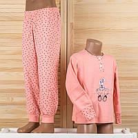 Детская пижама на девочку Турция. Moral 804-2 4/5. Размер на 4/5 лет.
