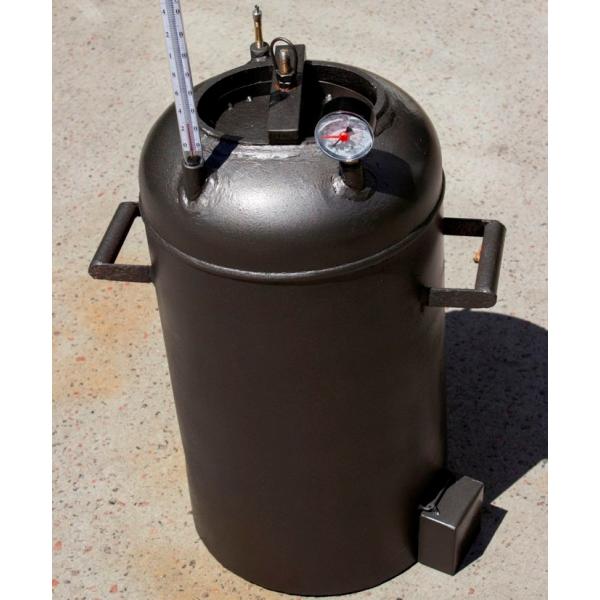 Автоклав Электрический 28 пол.литр., из газового балона для домашнего консервирования