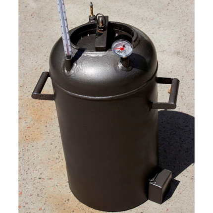 Автоклав Электрический 21 пол.литр., из газового балона для домашнего консервирования, фото 2