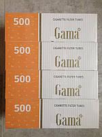 Гильзы сигаретные Gama 500 шт. уп.ящик 20 уп.