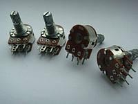 Потенциометр WH148 для пультов b5k, 15mm, фото 1