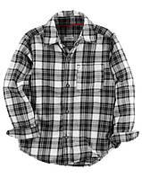 Рубашка Carters на мальчика 2-5 лет Plaid Button-Front Shirt