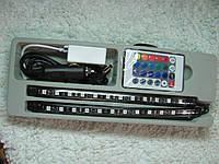 Цветная подсветка для авто RGB led ambient