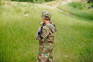 Костюм камуфляжный детский ARMY KIDS Лесоход 140-146 мультикам оригинал 17-235, фото 2