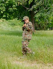 Костюм камуфляжный детский ARMY KIDS Лесоход 140-146 мультикам оригинал 17-235, фото 3