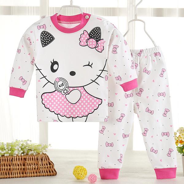 Пижама детская тонкая вязка Котики