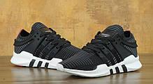 Мужские кроссовки Adidas EQT Support ADV PRIMEKNIT Core Black Turbo, фото 2