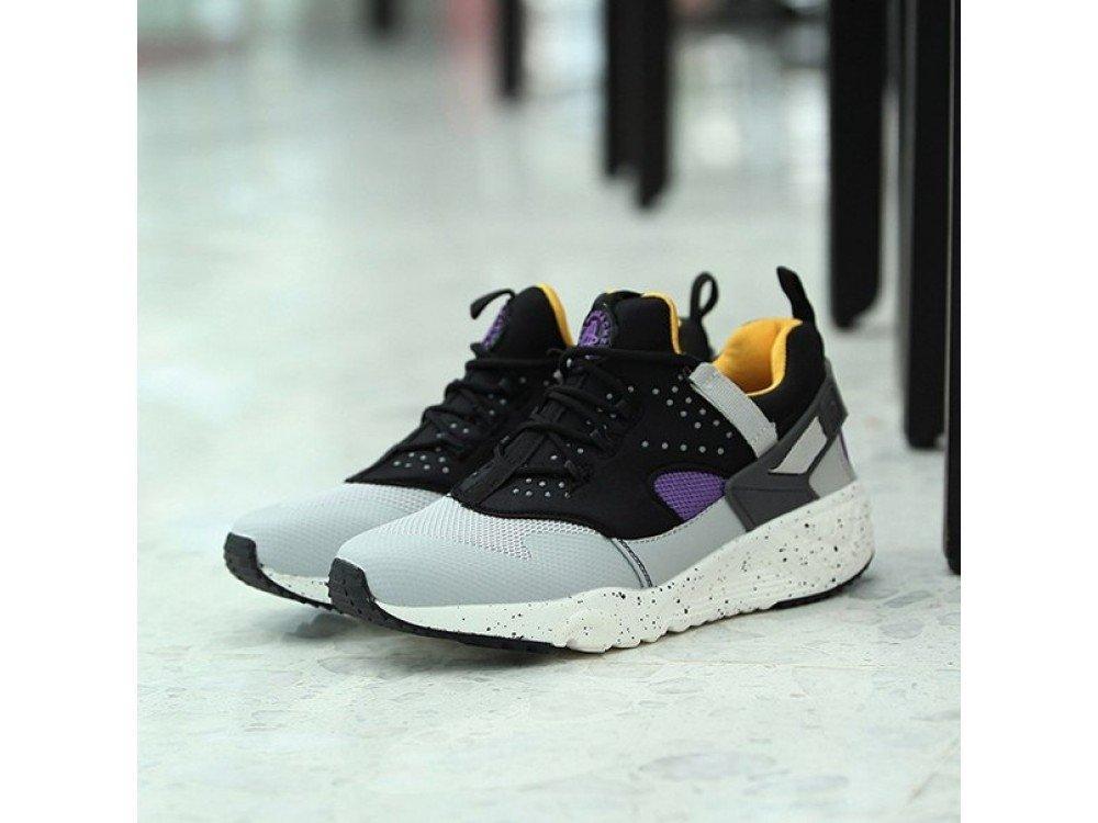 Мужские кроссовки Nike Air Huarache Grey/Yellow