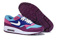 Женские кроссовки Nike Air Max 87 Blue/Pink/White, фото 1
