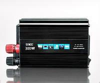 Инвертор автомобильный 300W, Преобразователь напряжения AC/DC 300W