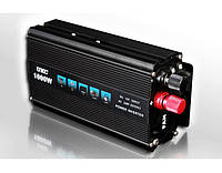 Инвертор автомобильный 1000W, Преобразователь напряжения AC/DC 1000W