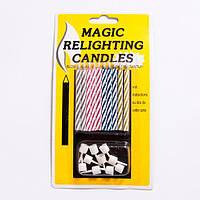 """Свечи для торта """"Магические спираль"""""""