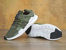 Мужские кроссовки AD EQT Support ADV Green. ТОП Реплика ААА класса., фото 3