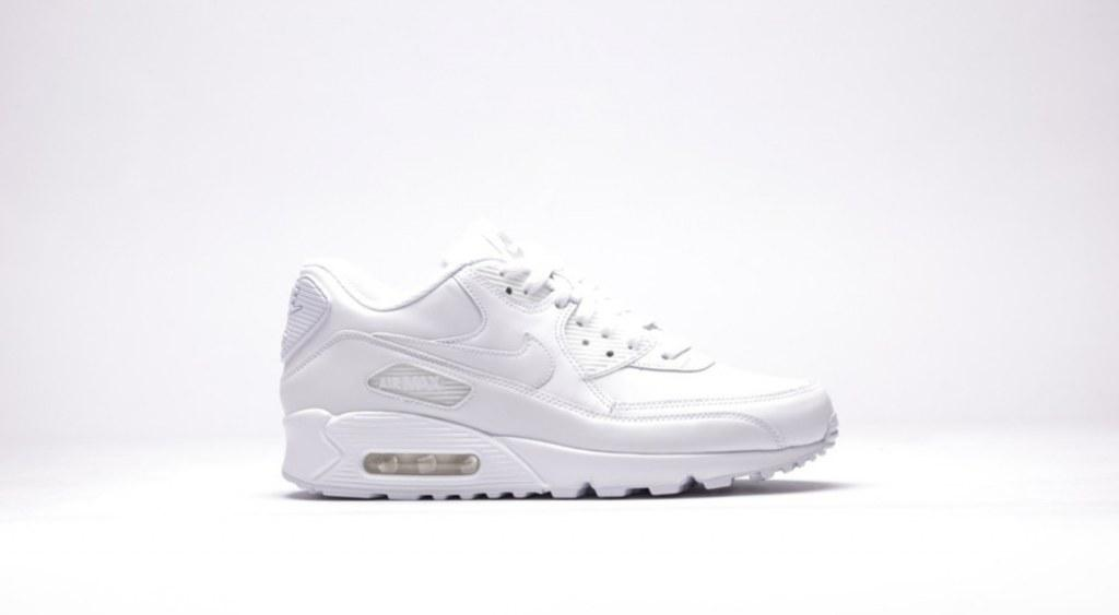 1988556c3724 ☆ Купить Женские кроссовки Nike Air Max 90 Leather All White ...