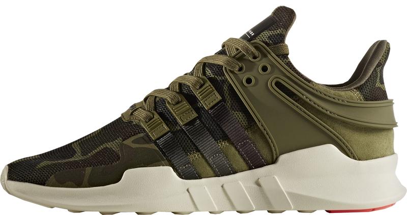 Мужские кроссовки Adidas Equipment Support Adv Camouflage Green , фото 2