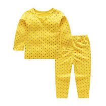 Пижама детская тонкая в горошек, фото 3