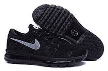 Женские кроссовки Nike Air Max Flyknit All Black