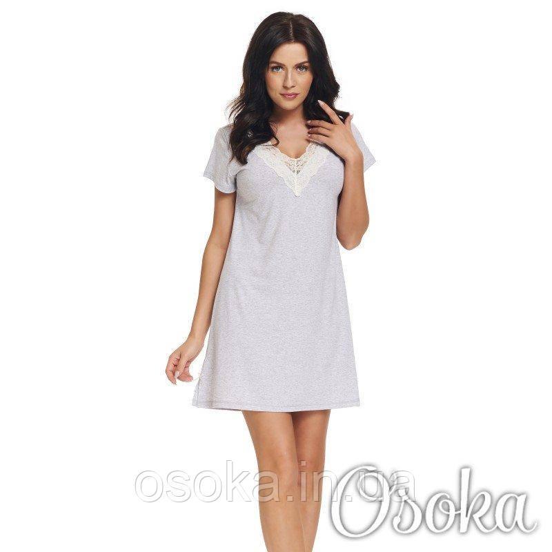 Ночная рубашка вискоза Dobranocka (Добраночка) TW.9323 Grey Melange