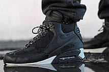 Зимние мужские кроссовки Nike Air Max 90 Winter Sneakerboot Black