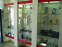 Торговое оборудование для мобильных телефонов и аксессуаров. ТО-104