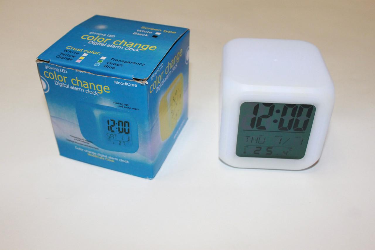 Часы Куб хамелеон