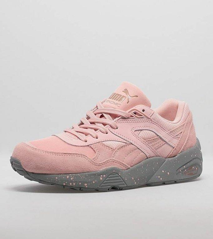 Женские кроссовки Puma Winterized R698 Coral Cloud Pink