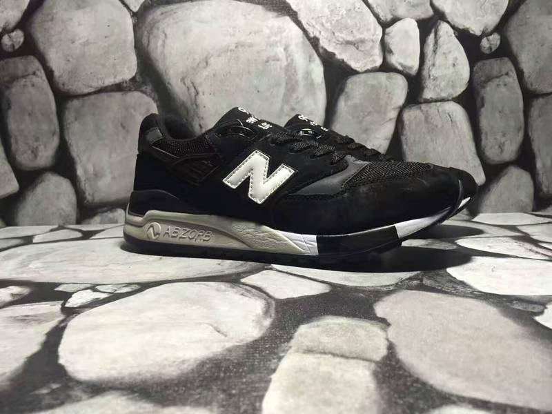 f7ba4765 ☆ Купить Зимние мужские кроссовки New Balance 998 Ash Black/White ...
