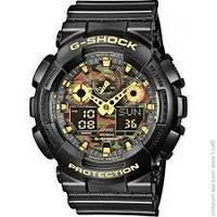Оригинальные спортивные мужские часы CASIO G-SHOCK GA-100CF-1A9ER