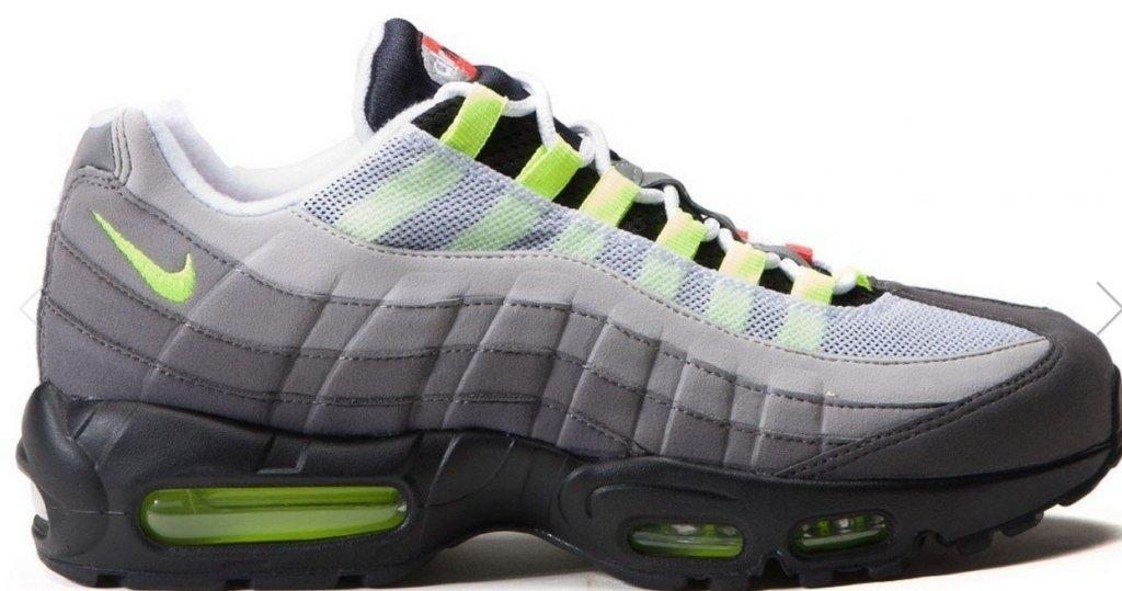 Мужские кроссовки Nike Air Max 95 Grey