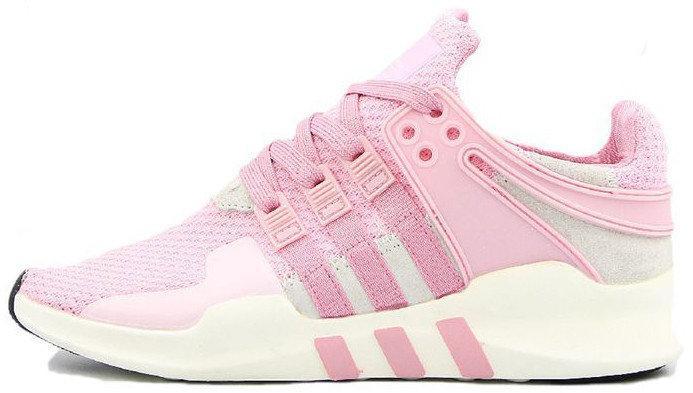 Женские кроссовки AD EQT Running Support 93 Primeknit Barbie Pink . ТОП Реплика ААА класса.
