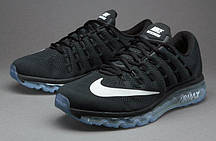 Женские кроссовки Nike Air Max 2016 Black/White-Reflect Silver