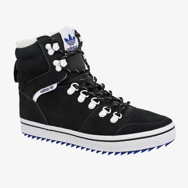 ☆ Купить Зимние мужские кроссовки Adidas Honey Hill Black С МЕХОМ ... 463e67a1f3651
