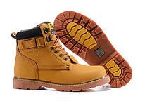 Зимние мужские ботинки Caterpillar Second Shift Boots Yellow