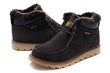 Зимние мужские ботинки Caterpillar Winter Boots Dark Brown