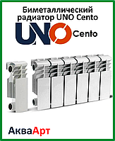Биметаллический радиатор UNO Cento 200х100