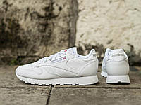 Оригинальные Женские кроссовки Reebok Classic Leather All White(Код: 2232), фото 1