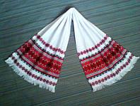 """Тканий рушник з українським орнаментом """"Марічка"""" 70*33см"""