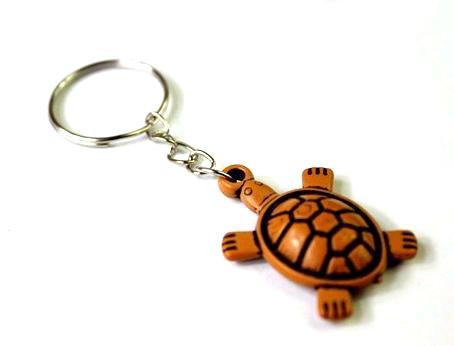 Брелок у вигляді черепахи 3D пластик SKU0000841