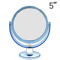 "YRE - Зеркало настольное 2-сторон. 5"" (d=14.5cm) среднее"