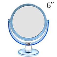 "YRE - Зеркало настольное 2-сторон. 6"" (d=17cm) среднее"