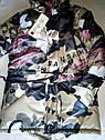 Демисезонная модная курточка на девочку Камуфляж Размер 128, фото 3