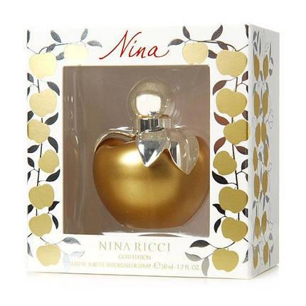 Nina Ricci Gold Edition туалетная вода 80 ml. (Нина Ричи Голд Эдишн), фото 2