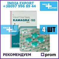 Оргинал Виагра  Kamagra Gold 100 мг Силденафил 4 таблетки