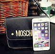 Сумочка клатч Moschino, фото 8