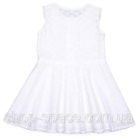 Платье Miracle Me молочное с прошивом